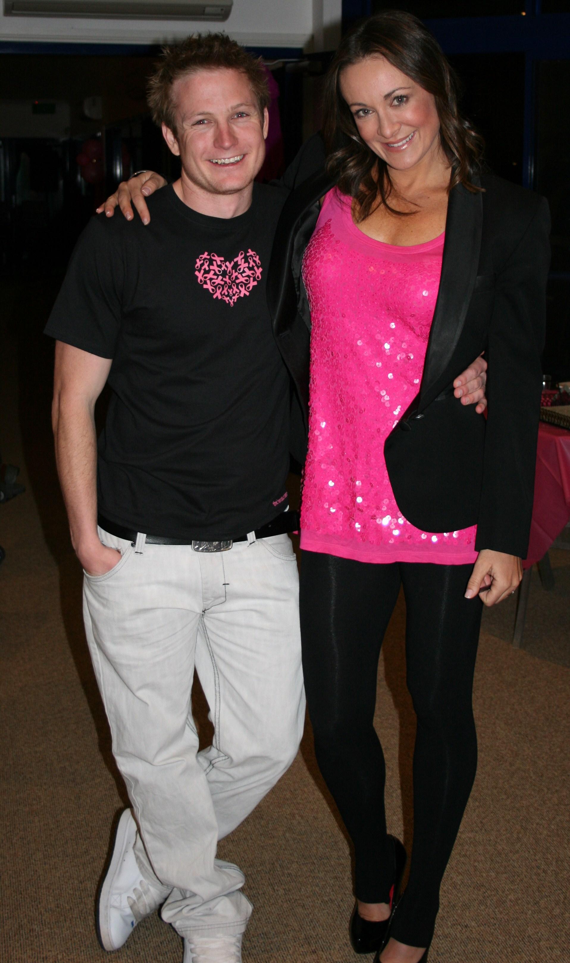 Michelle Bridges and Josh 196
