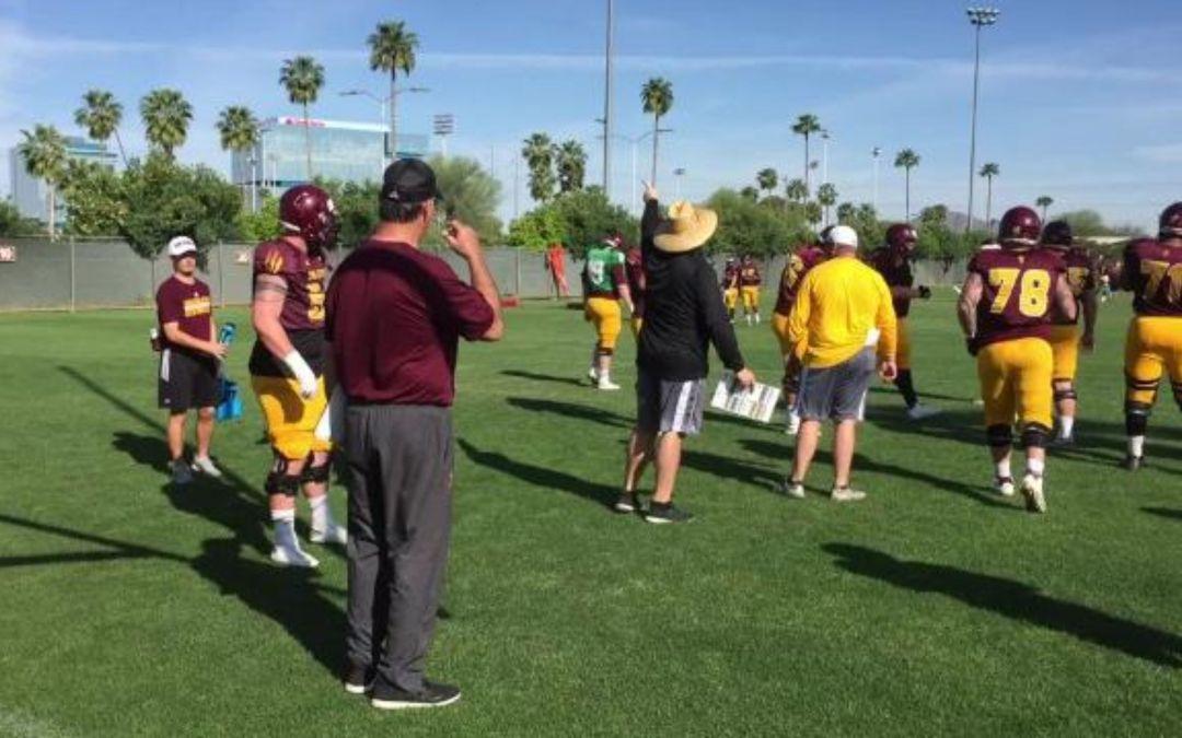 ASU football begins second week of spring practice