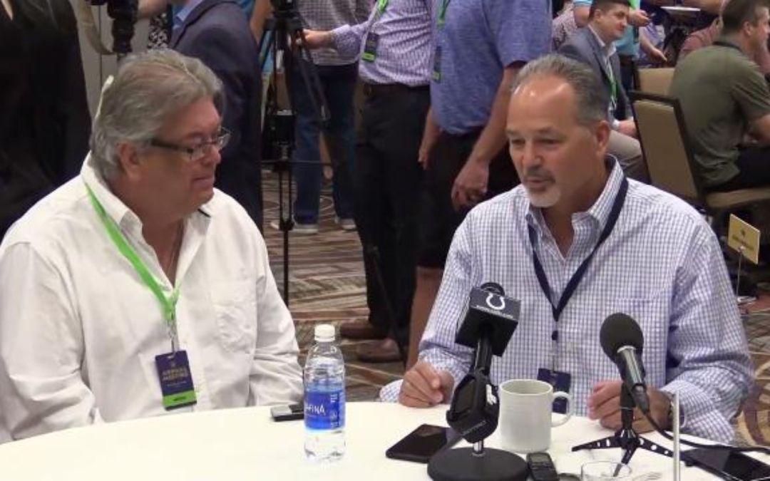 Bob McManaman talks to AFC coaches