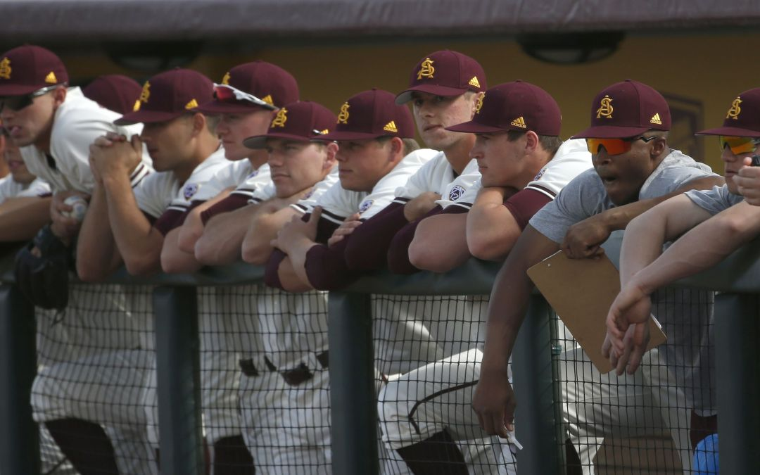 ASU baseball clinches Long Beach State series win
