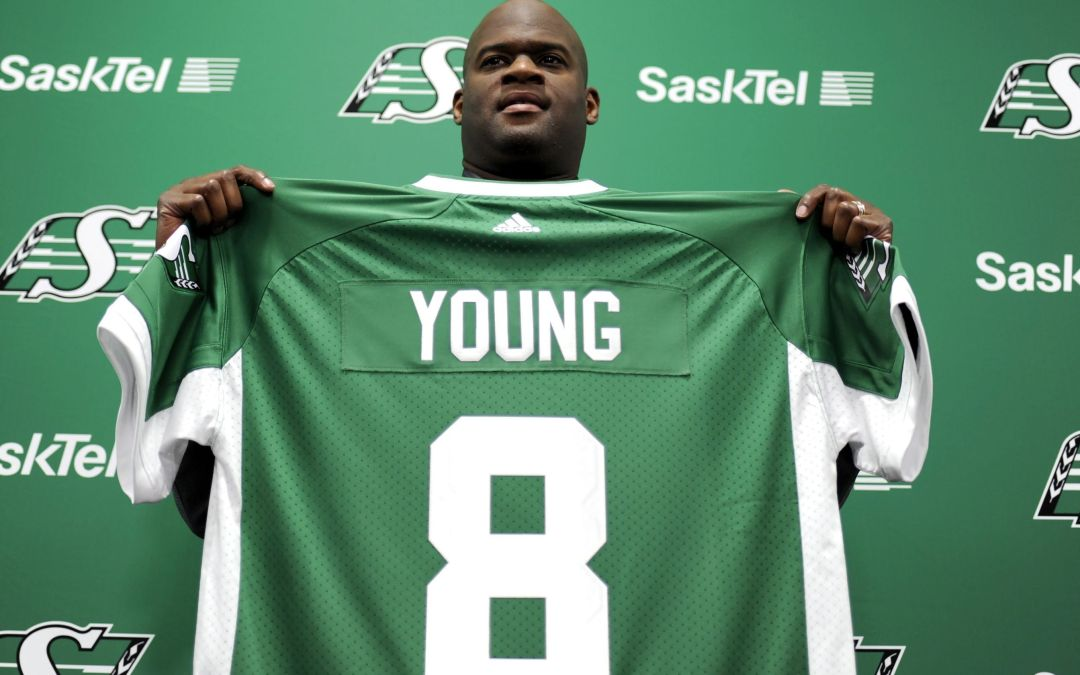 Vince Young heads to CFL with 'fire' to prove himself