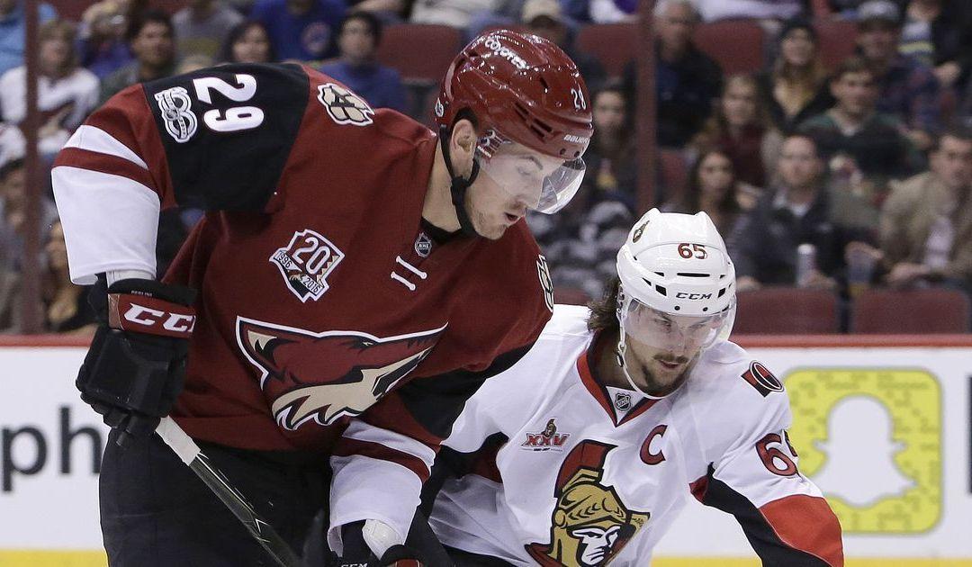 Late mistakes, blown chances sting Arizona Coyotes in OT loss to Ottawa Senators