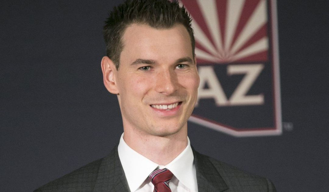 Coyotes GM John Chayka reflects on first year: 'We are 29th'
