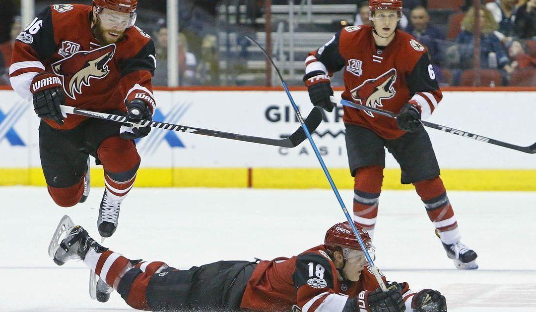 NHL power rankings: Coyotes stuck near bottom