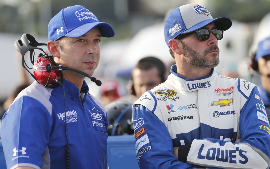 NASCAR duo of Johnson, Knaus chasing eighth Cup title