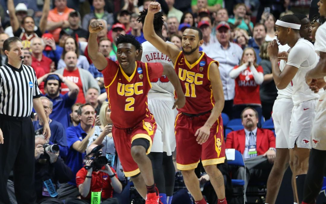 No. 11 USC plays tournament spoiler yet again