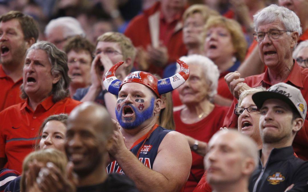 Photos: Arizona Wildcats basketball fans