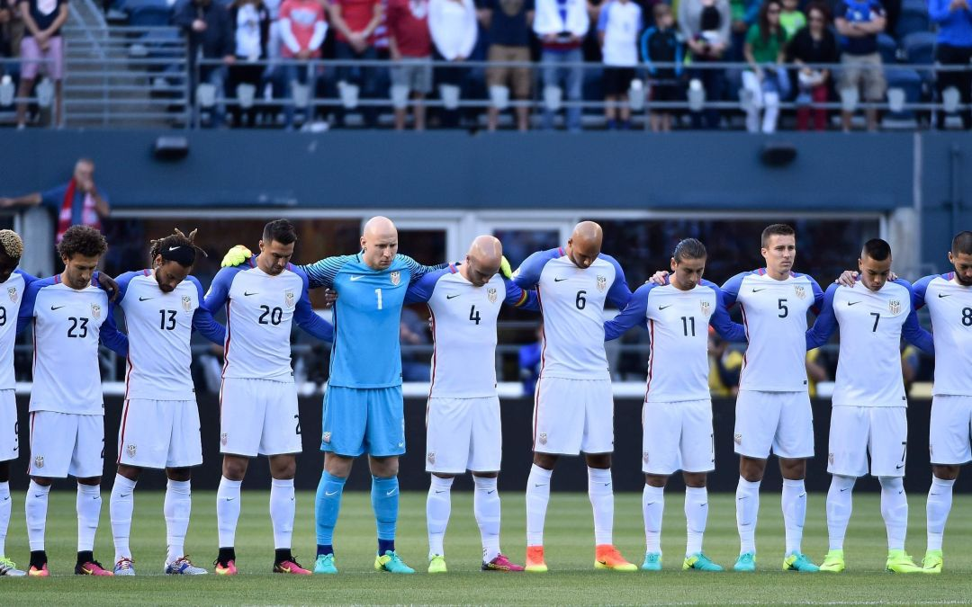 Men differ on U.S. Soccer banning players from anthem protest