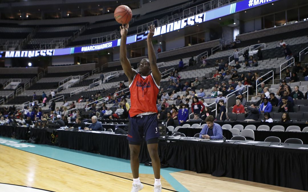 All eyes on Rawle Alkins' finger ahead of Arizona's Sweet 16 matchup with Xavier