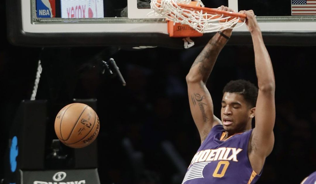 Rookie Marquese Chriss turning into Suns' late bright spot