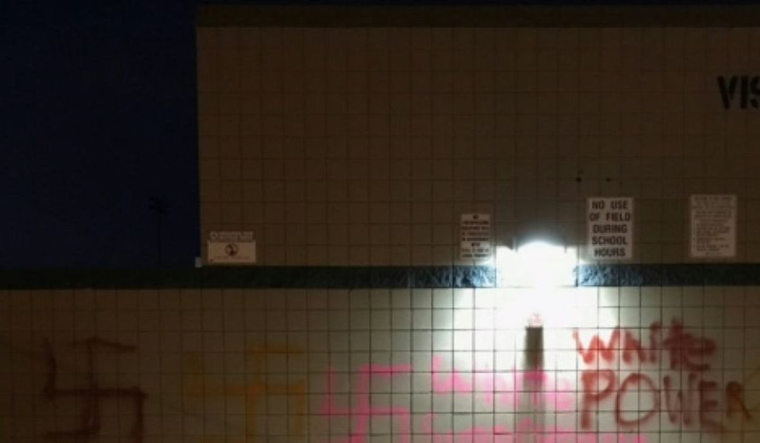 Swastikas, 'white power' painted on Pinnacle High School in Phoenix; hate-crime squad investigating