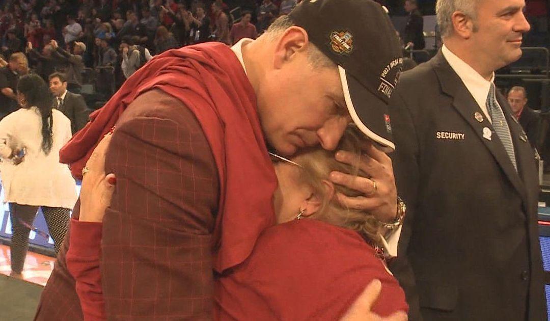 South Carolina's Frank Martin credits his mom as part of drive to top