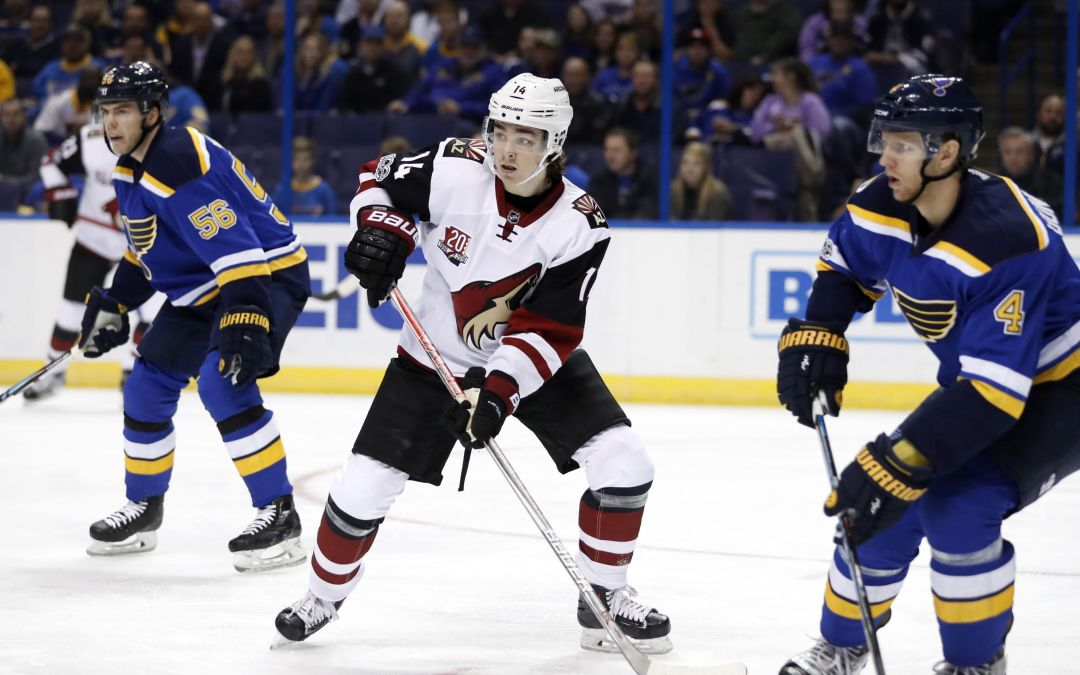 Clayton Keller makes 'solid' NHL debut for Coyotes