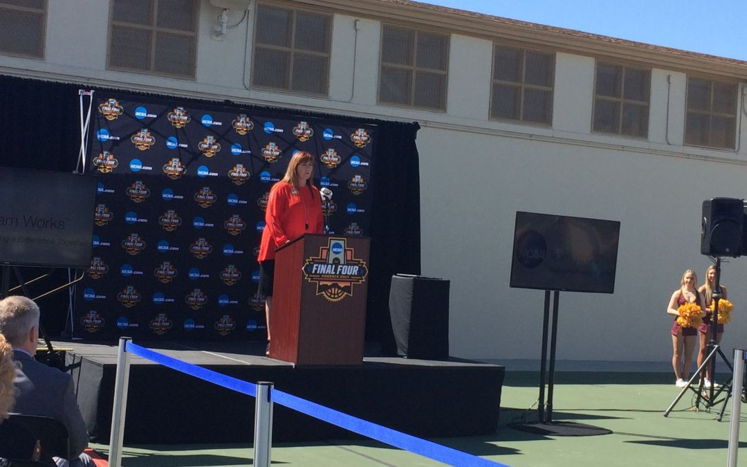 Historic Phoenix park gets NCAA makeover