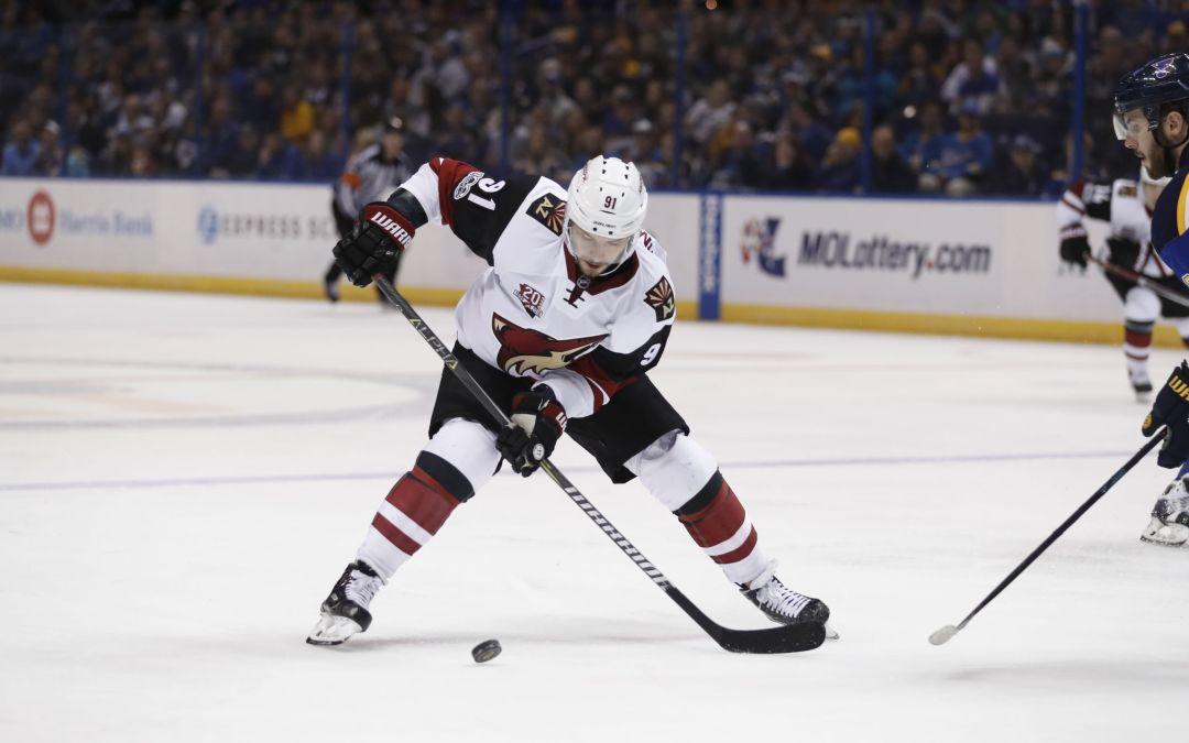 Arizona Coyotes' Alexander Burmistrov motivated to return from 'scary' injury