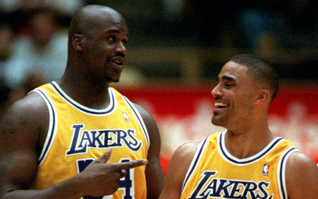 Ex-Lakers recall traumatic memories of naked Shaq