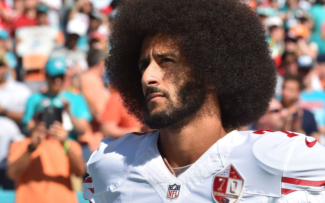 Donald Trump takes credit for Colin Kaepernick still being a free agent