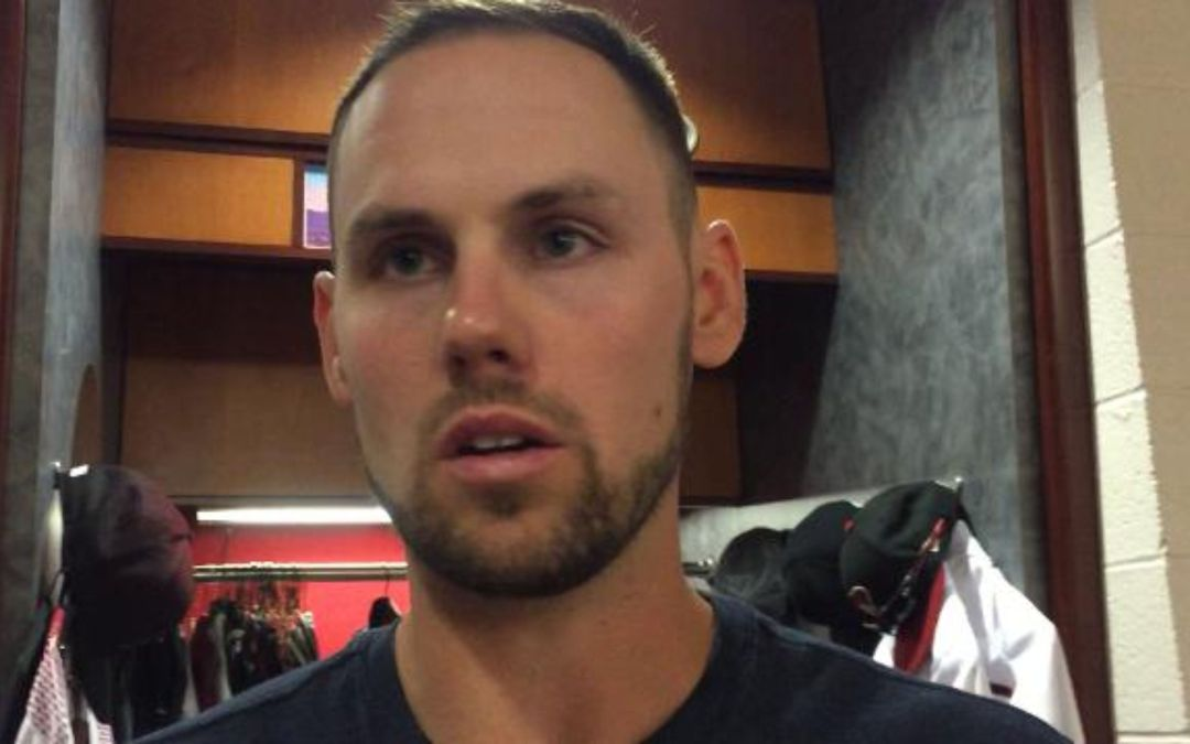 Chris Owings talks about his fifth-inning error