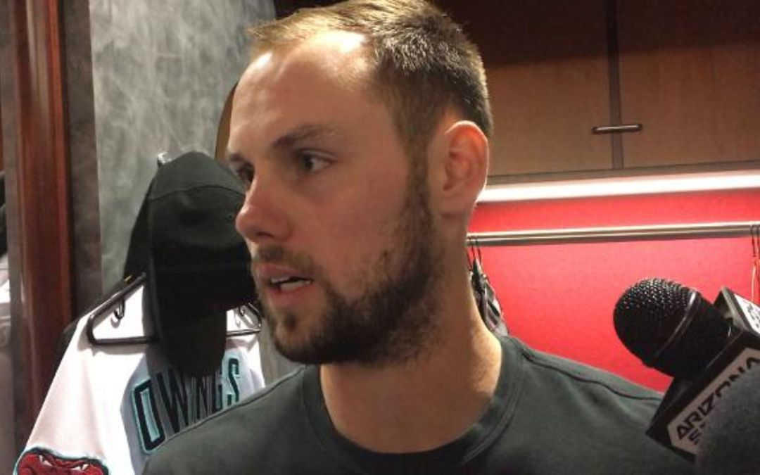 Chris Owings on his two-homer night
