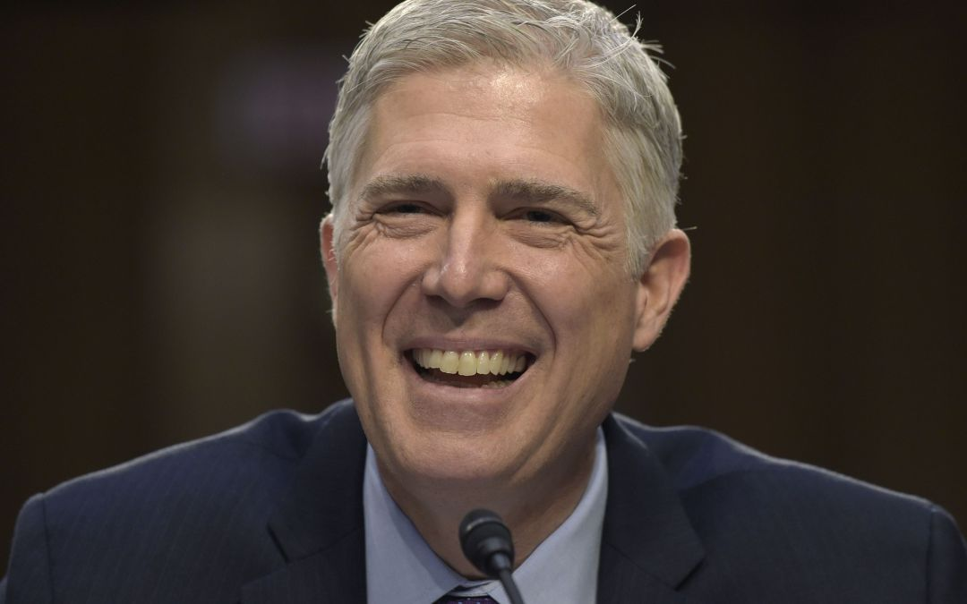 Gorsuch takes his seat; Valley home sales keep climbing; Woman gives birth following I-17 collision