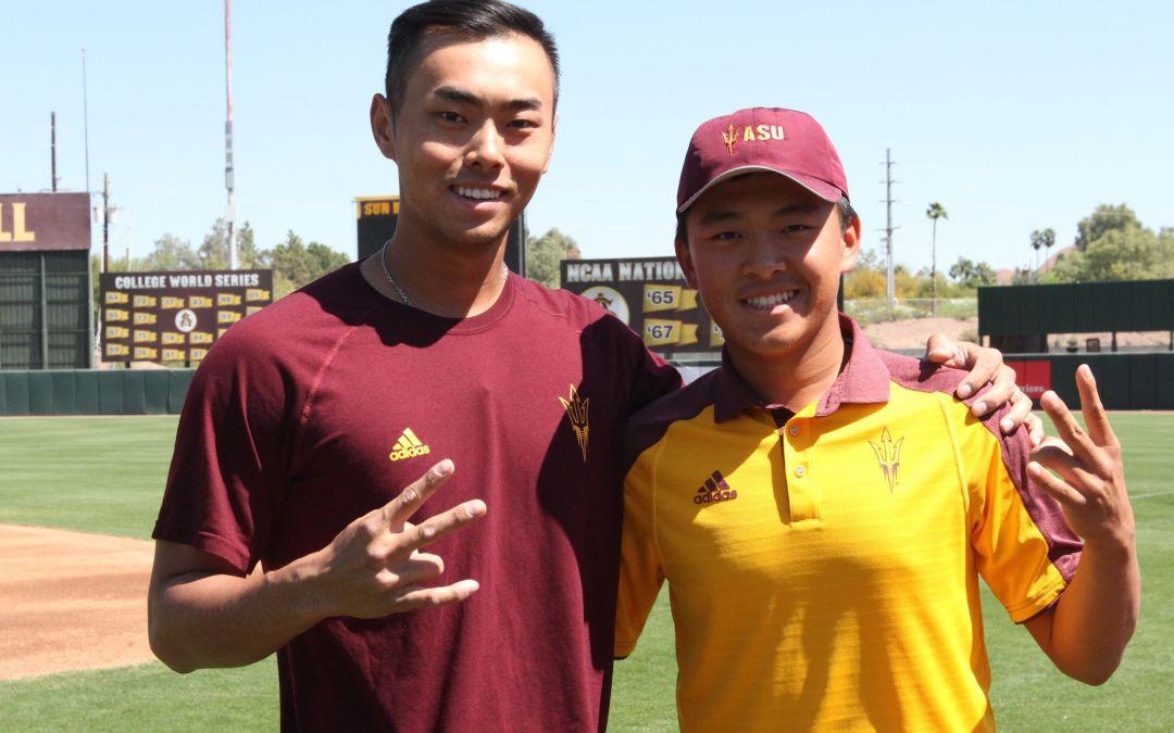 Lin, Yu are ASU freshman stars