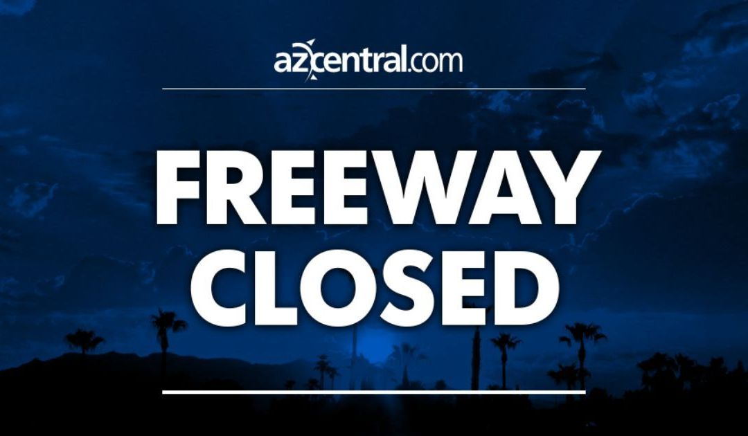 Interstate 17 closed north of Black Canyon City