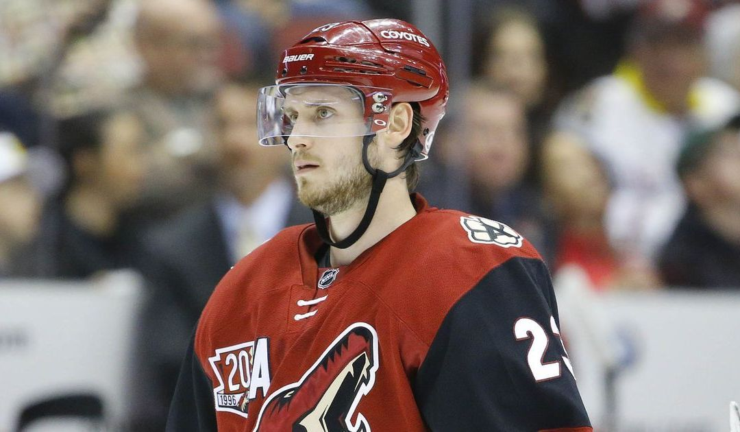 Arizona Coyotes' Oliver Ekman-Larsson played with 'heavy heart'