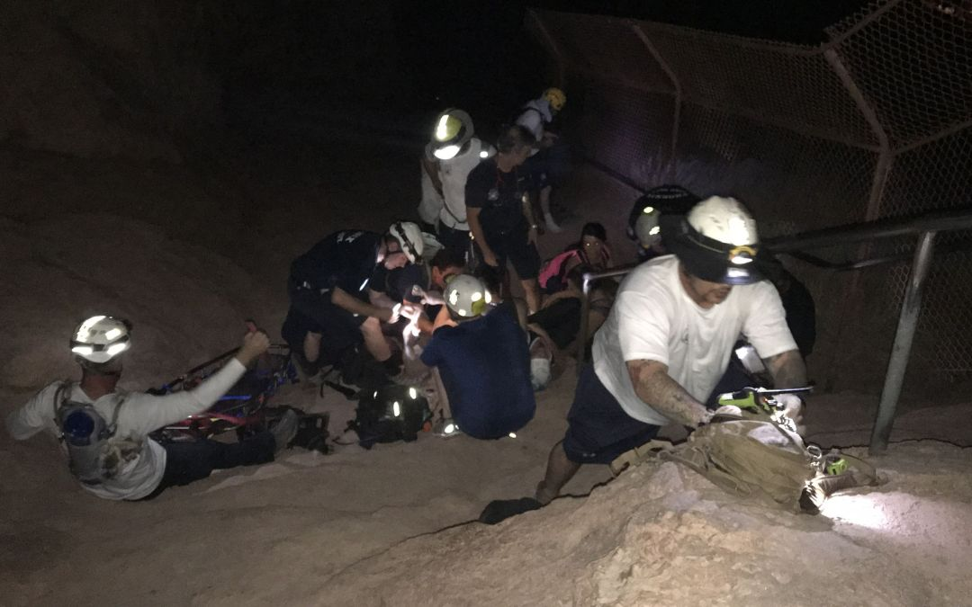 Woman rescued from Camelback Mountain in Phoenix