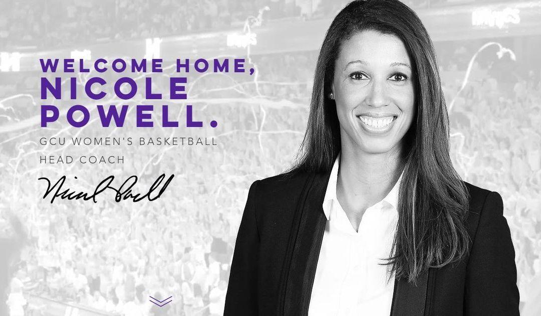 Ex-Mountain Pointe standout Nicole Powell named GCU women's basketball coach