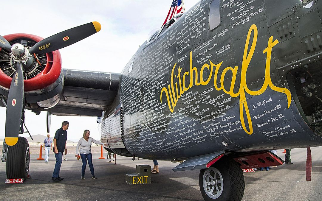 4 World War II planes land in Phoenix with Wings of Freedom Tour