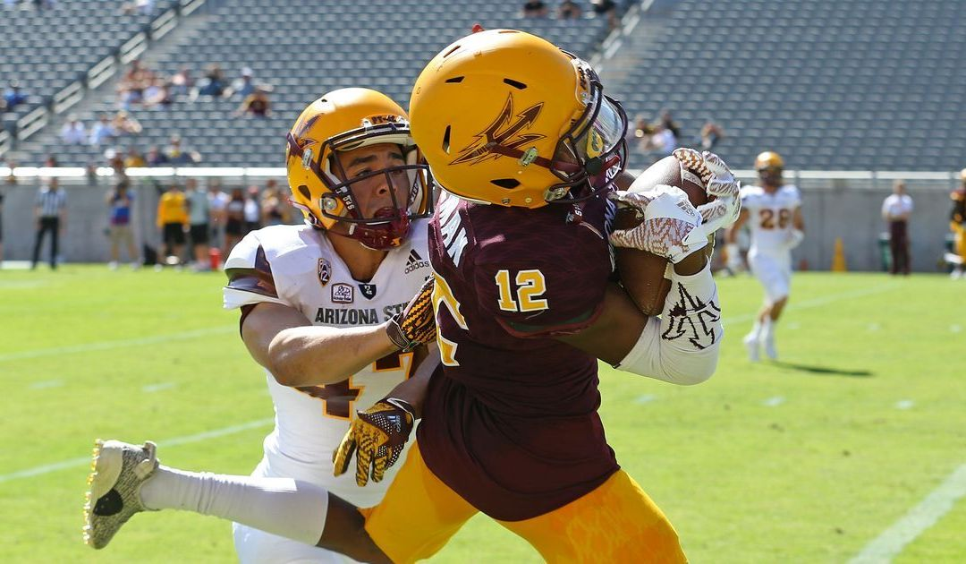 Wide receivers earn top billing during ASU spring game