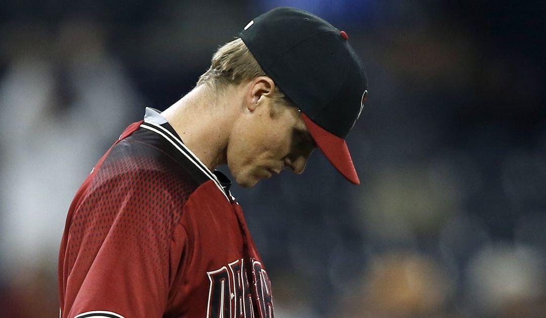 Diamondbacks' Zack Greinke makes fatal mistake in pitchers' duel