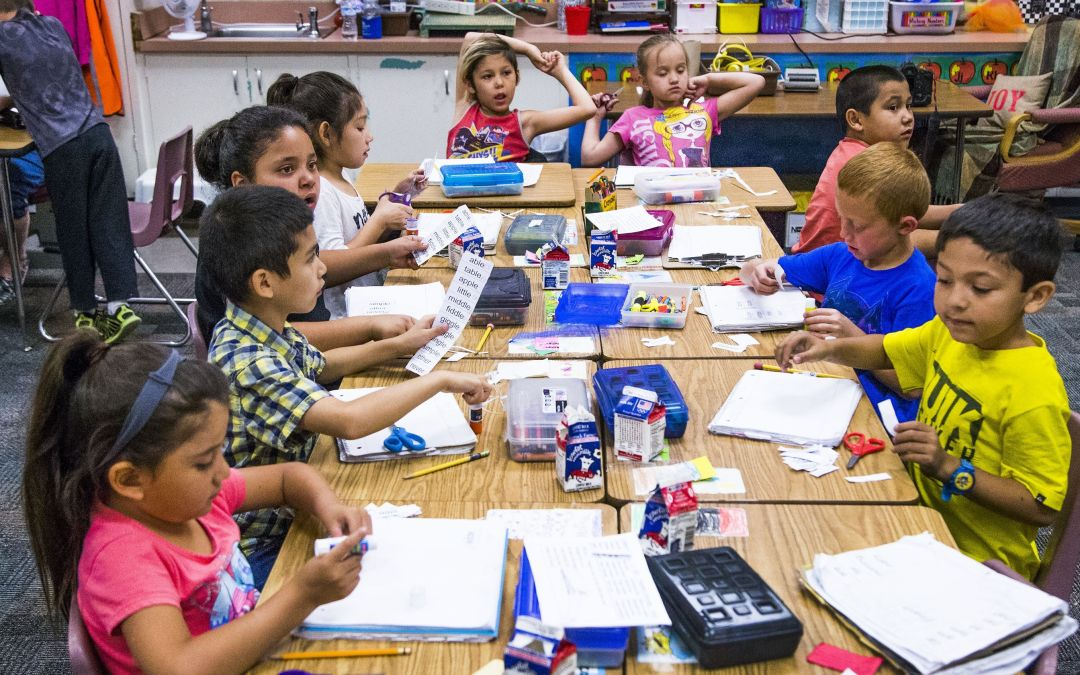 Single-gender classrooms, college-readiness program pay off for award-winning Mesa elementary school