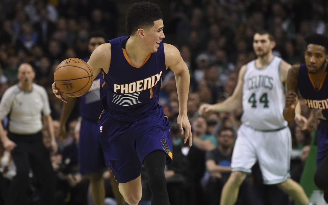 Suns guards Booker, Ulis up for NBA fan awards