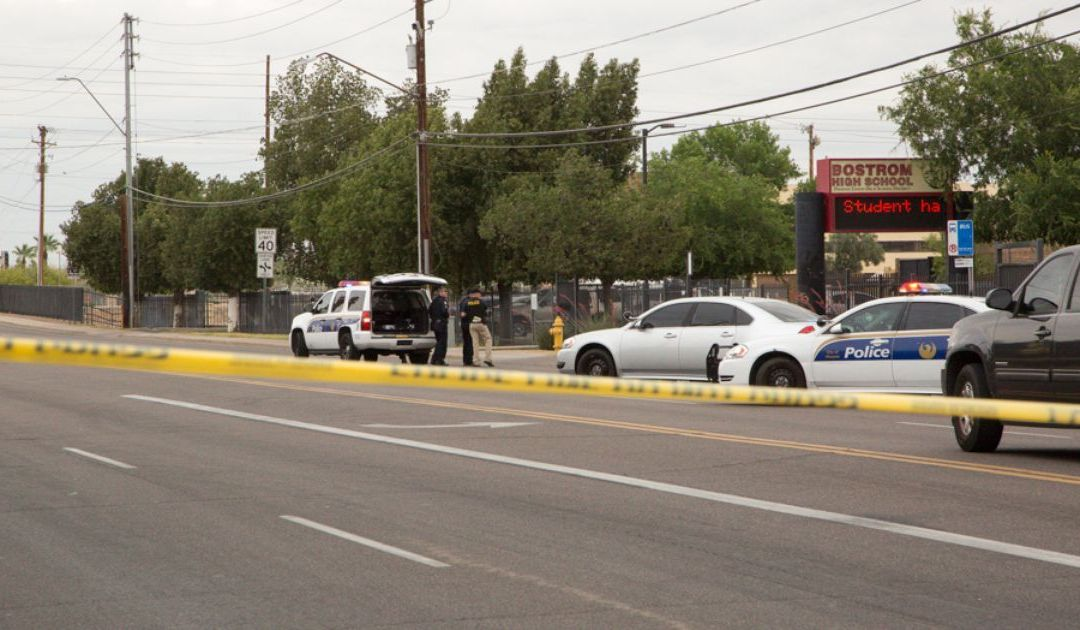 Man with replica rifle detained near Bostrom High School in Phoenix
