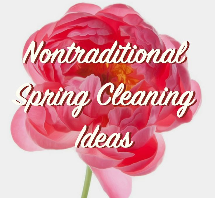 10 Nontraditional Spring Cleaning Ideas