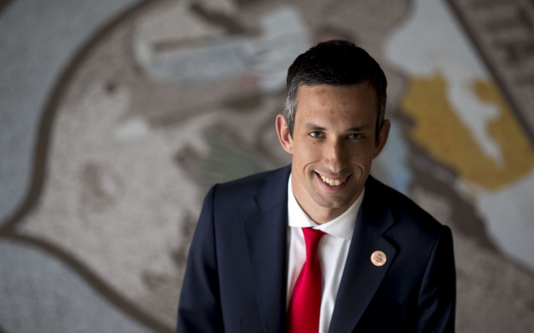 Freshman Democrat Sean Bowie learns the tough lessons of serving in a GOP Senate