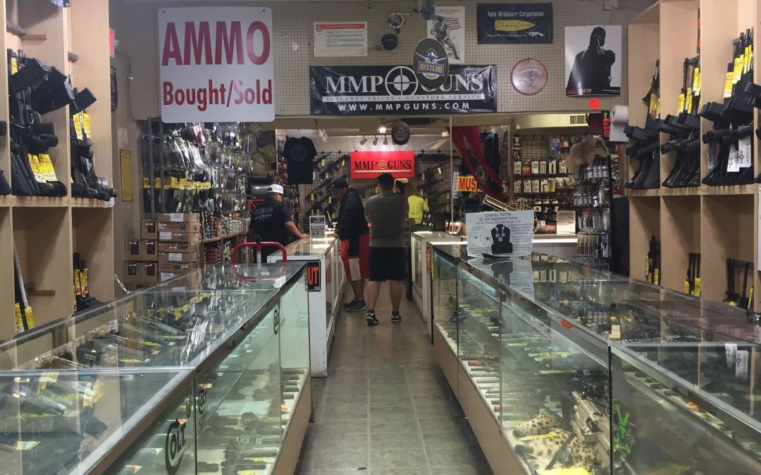 'Serial Street Shooter' suspect had history of gun-related purchases, pawn shop records show