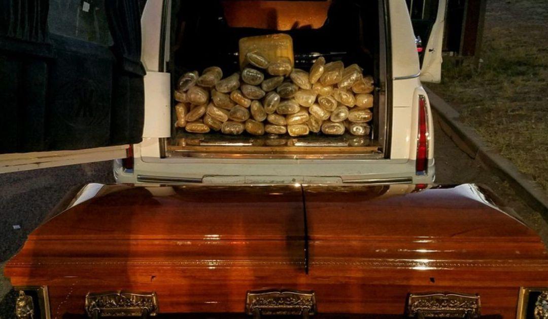 Border Patrol finds 67 pounds of pot hidden inside casket near Tucson