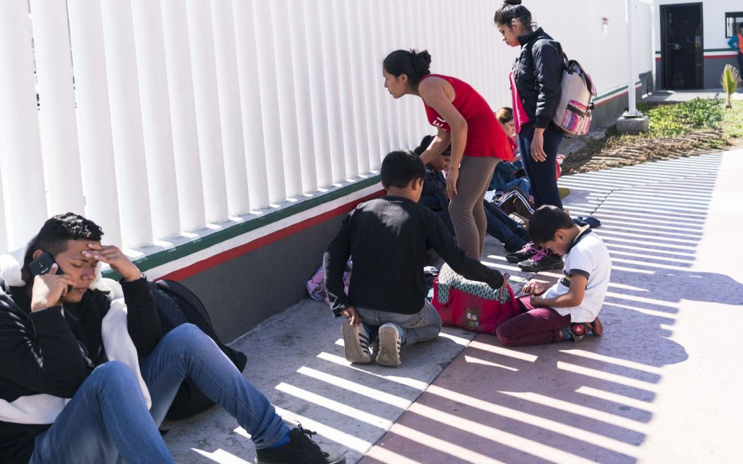 Are asylum seekers being turned away at the border?