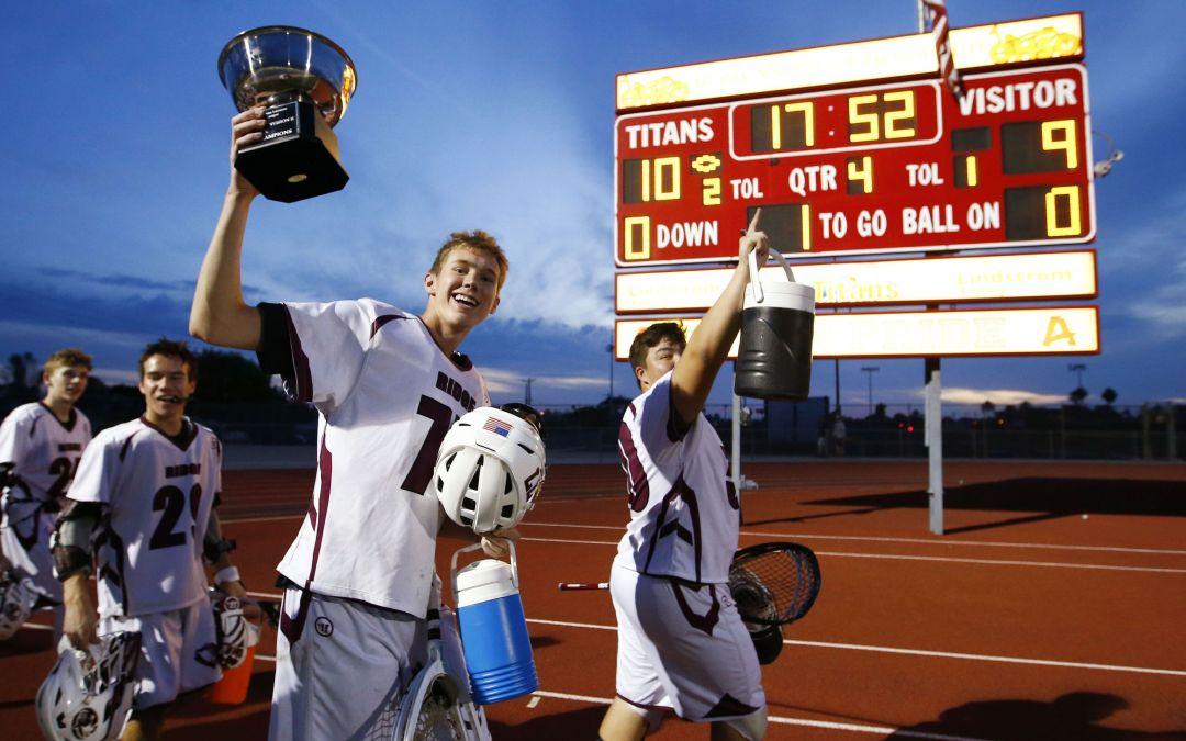 Glendale Mountain Ridge, Scottsdale Notre Dame Prep win boys lacrosse titles