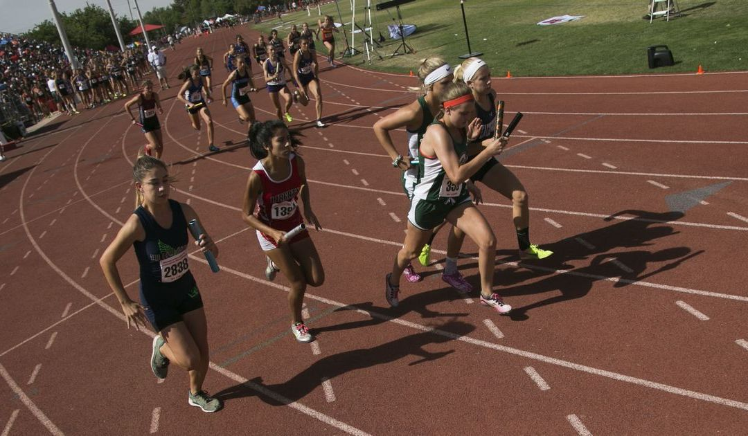 Allie Schadler adds to track legacy with 2 more titles despite windy conditions