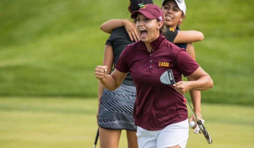 ASU golfer Monica Vaughn wins NCAA championship