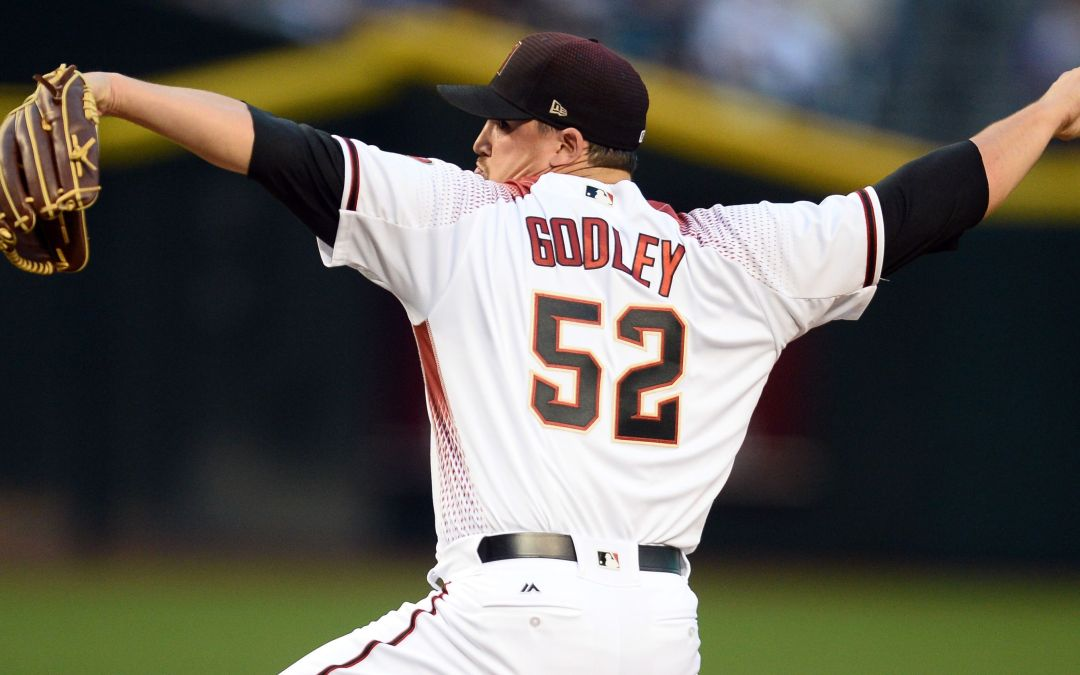 Zack Godley to start for Arizona Diamondbacks Monday vs. New York Mets