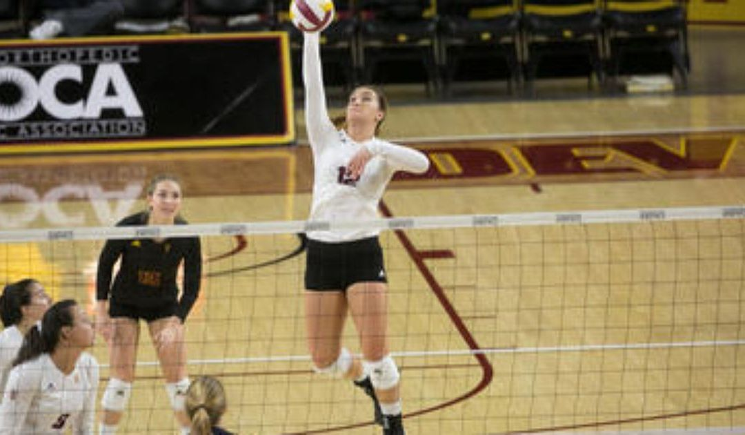 ASU volleyball hires career kills leader Macey Gardner as assistant coach