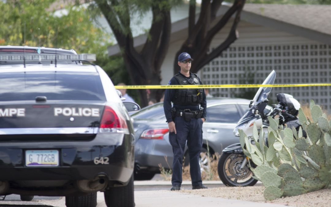 Man shot dead by Tempe police after he stabbed officer