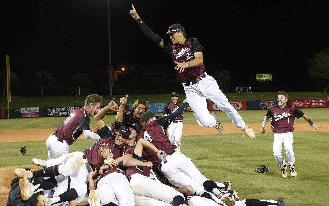 Cole Bellinger pitches Hamilton to 2nd straight 6A baseball title with win over Pinnacle