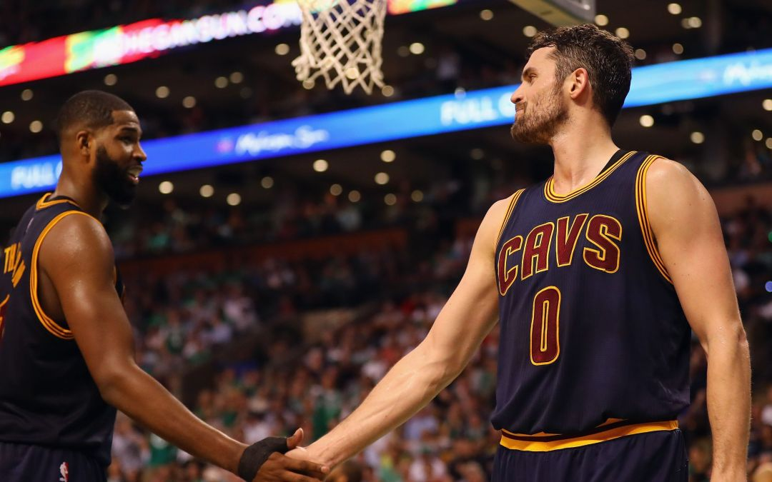 Cavs' Kevin Love has playoff career-high in Game 1 rout over Celtics