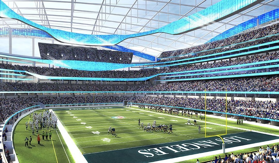 Rams, Chargers stadium delayed by rain, won't open until 2020