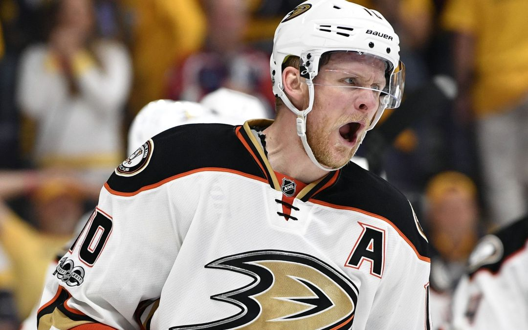 Consummate pro Corey Perry again comes through when Ducks need him most